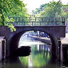 Canals of Amsterdam by Ruth Smith