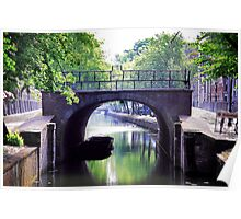 Canals of Amsterdam Poster