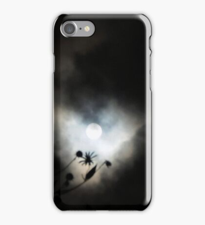 Moon in September iPhone Case/Skin