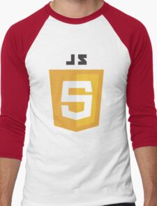 javascript computer Men's Baseball ¾ T-Shirt