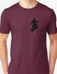 Skater Small - Black Unisex T-Shirt
