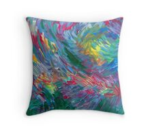 Summer Storms Throw Pillow