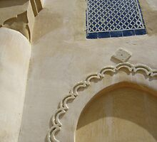 Architectural Gate to Fez, Morocco by WVagabond