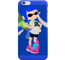 Inkling Girl (Blue) - Splatoon iPhone Case/Skin