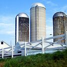 Silos On A Hill by WeeZie