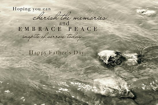 Embrace Peace and Cherish Memories on Father&#x27;s Day by Franchesca Cox