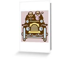 Vintage Traveller Greeting Card
