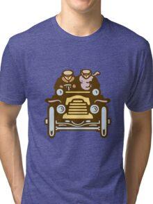 Vintage Traveller Tri-blend T-Shirt