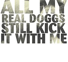 all my real dogs still kick it with me by jackthewebber