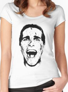 Patrick Bateman Women's Fitted Scoop T-Shirt