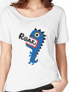 Roar Monster Women's Relaxed Fit T-Shirt