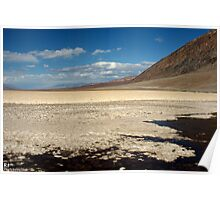 Badwater, Death Valley Poster