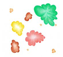 Beautiful colorful shapes for good mood Photographic Print
