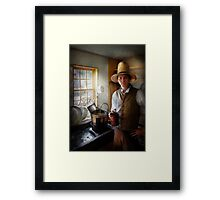 Farm - The Farmer Framed Print