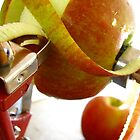 Apple peeling by Tracy Friesen