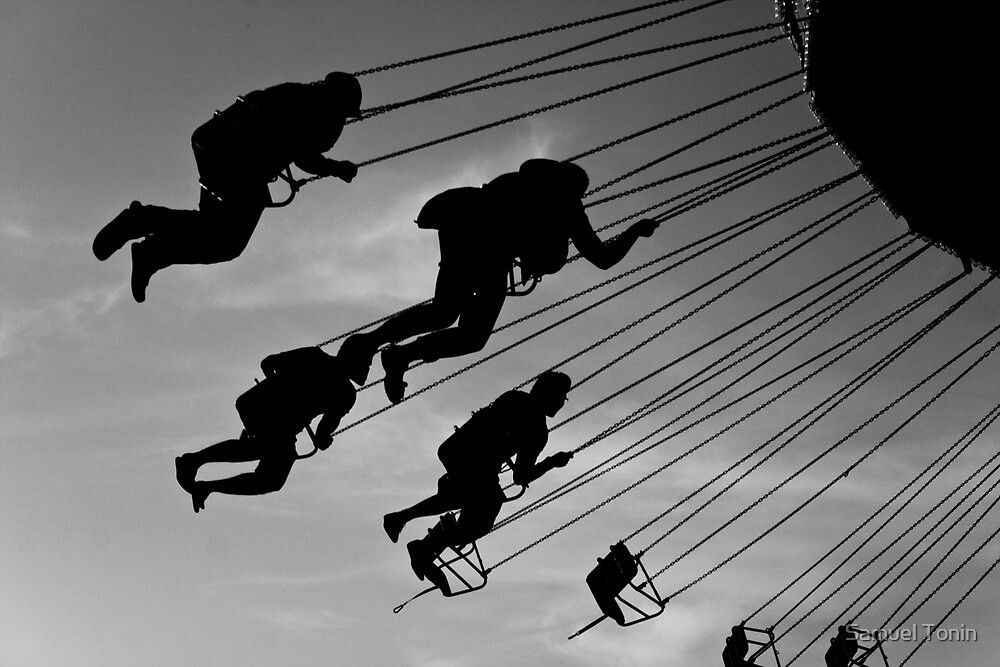 Excitement - Bournemouth Fun Park by Samuel Tonin
