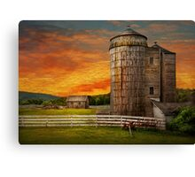 Farm - Welcome to the farm  Canvas Print