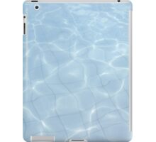 wavy pool tiles iPad Case/Skin