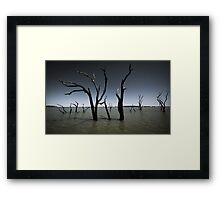 Taylors Lake Framed Print