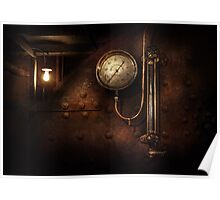 Steampunk - Boiler Gauge Poster