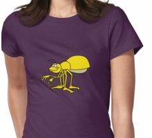 Mustard Bug Womens Fitted T-Shirt
