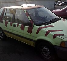 Jurassic Honda by Bart Castle