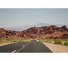 Valley of fire state park Photographic Print