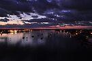 Before Sunrise on Mantazas Pass Bridge by Kim McClain Gregal