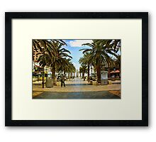 Another day at 'The Bay' Framed Print