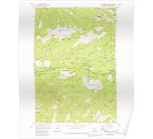 USGS Topo Map Oregon Government Camp 280059 1980 24000 Poster