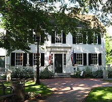 Jefferson Cutter House, Arlington, MA, USA by Judi FitzPatrick