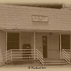 Yesterday And Today - Post Office in McLeod, Texas by Betty Northcutt