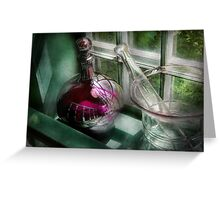 Pharmacy - The apothecary is open  Greeting Card