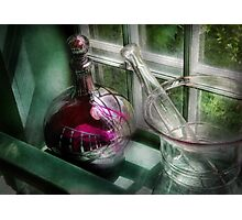 Pharmacy - The apothecary is open  Photographic Print