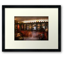 Pharmacy - The Apothecary Shop Framed Print