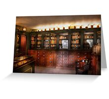 Pharmacy - The Apothecary Shop Greeting Card