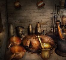 Pharmacy - Alchemist's kitchen by Mike  Savad