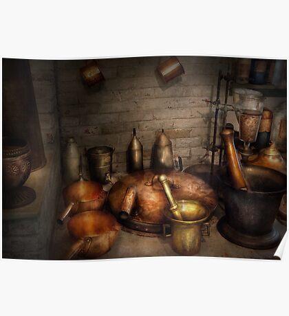 Pharmacy - Alchemist's kitchen Poster