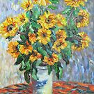 Van Gogh's Sun Flowers by Richard Nowak