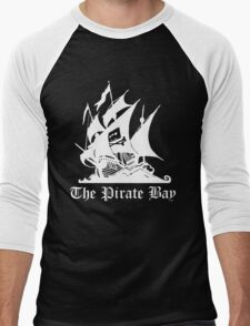 the pirate bay ship Men's Baseball ¾ T-Shirt