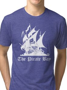 the pirate bay ship Tri-blend T-Shirt