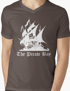 the pirate bay ship Mens V-Neck T-Shirt