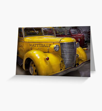 Fireman - Mattydale  Greeting Card