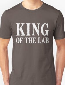 King of the Lab - White Text T-Shirt