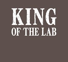 King of the Lab - White Text Unisex T-Shirt