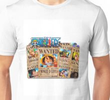 one piece wanted 1 Unisex T-Shirt