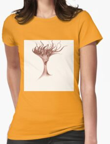 Colorful beautiful shapes for good mood Womens Fitted T-Shirt