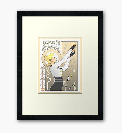Le Saint Graal Framed Print