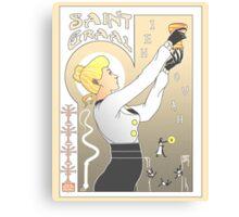 Le Saint Graal Canvas Print