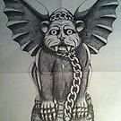 Gargoyle by vampibunni